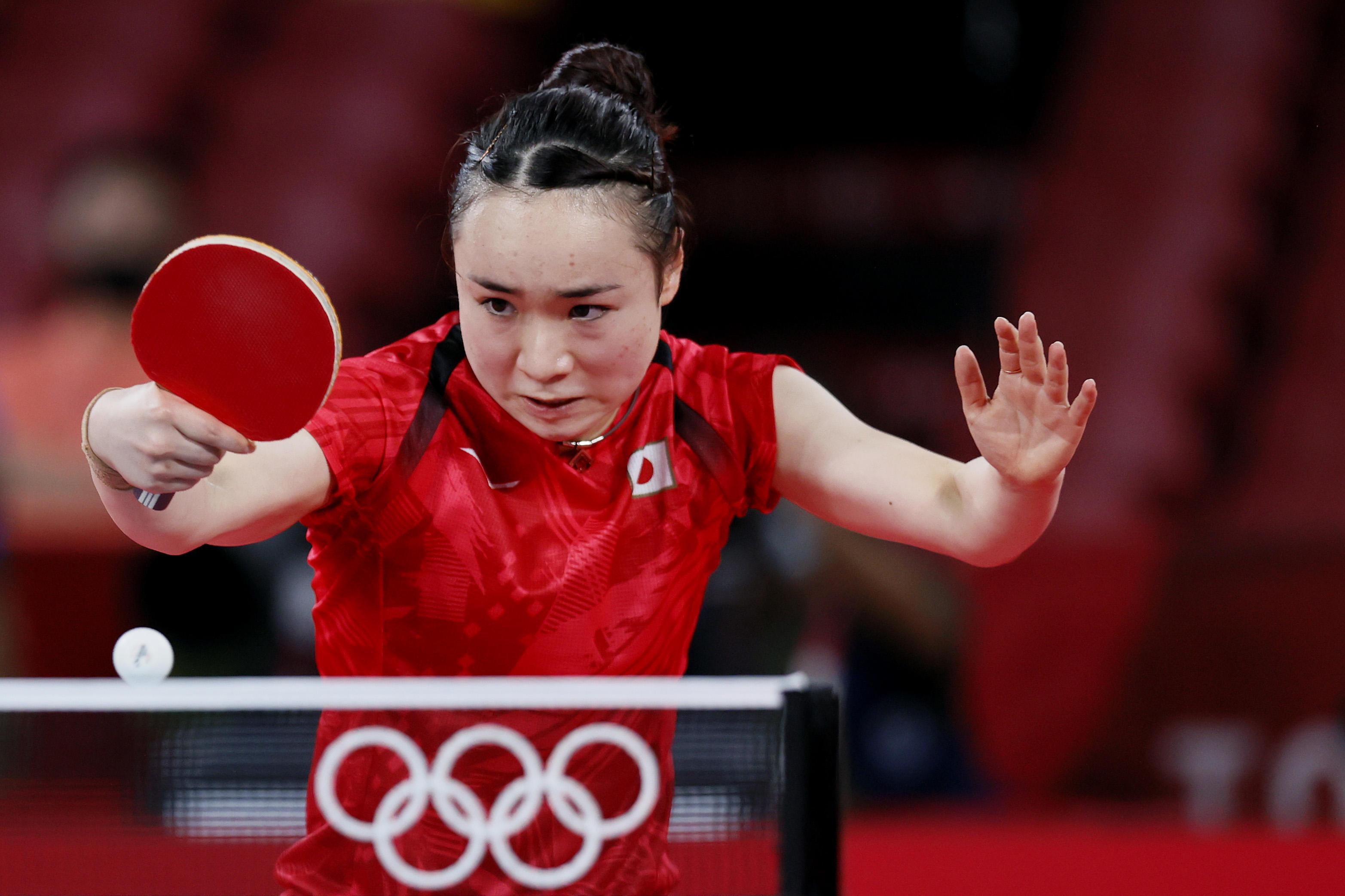 伊藤美誠「3-0で勝ててすごく自信になった。明日も楽しんで勝ちに行く」【五輪卓球 団体】