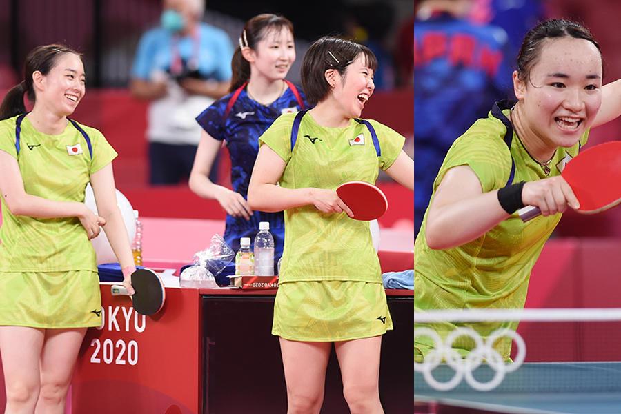 日本女子チームが悲願の金メダル獲りへ!最大の壁は世界最強の中国【五輪卓球】