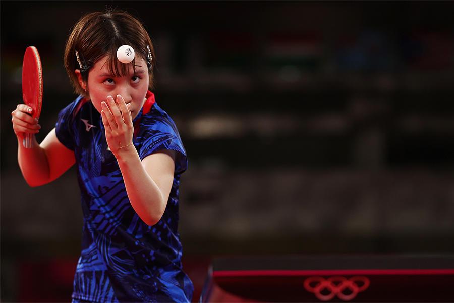卓球日本女子 団体初戦 ハンガリーに1ゲームも許さずにベスト8進出!平野美宇は五輪初出場【五輪卓球 団体】