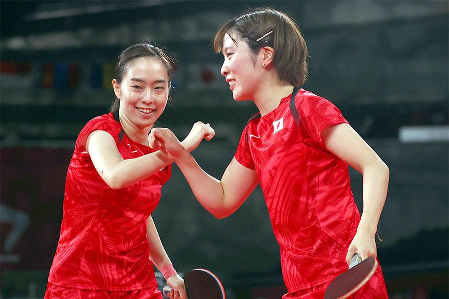 日本女子 強豪台湾に3-0で完勝!準決勝進出「自信になった」【五輪卓球 団体】
