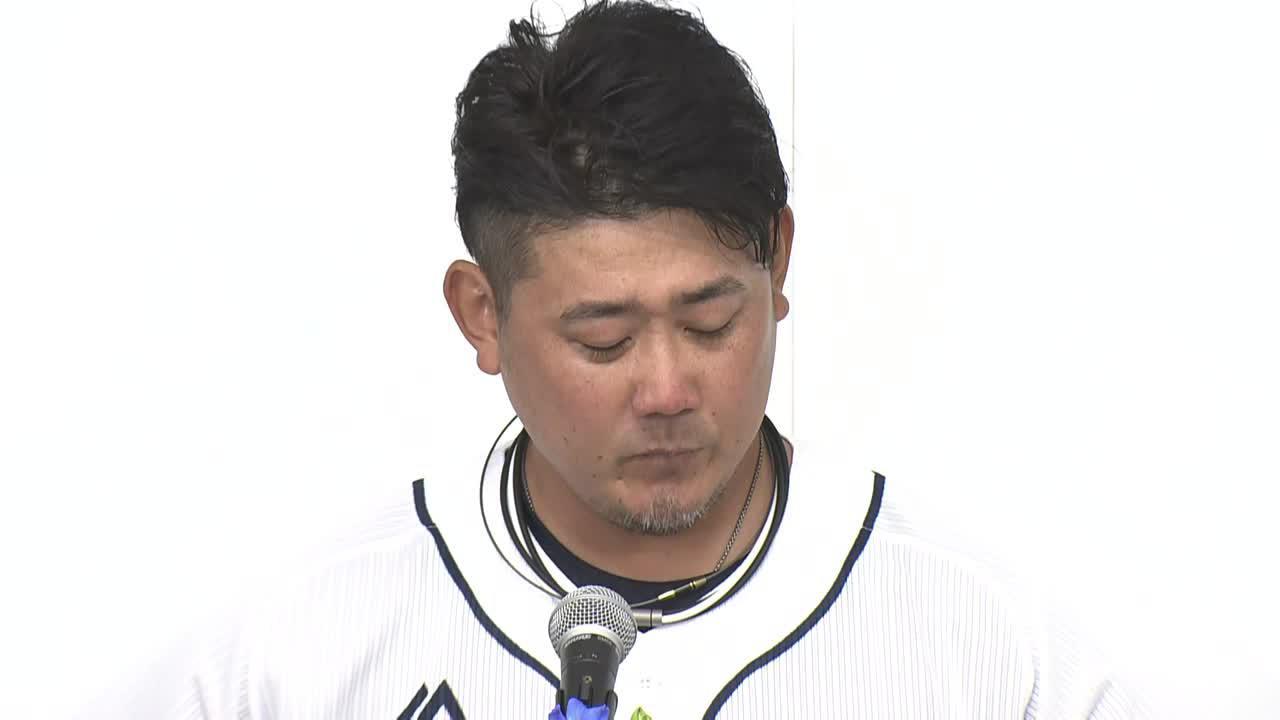 【西武】松坂大輔 引退会見「まだすっきりしていない。引退発表後も気持ちが揺れ動いていた」<前編>