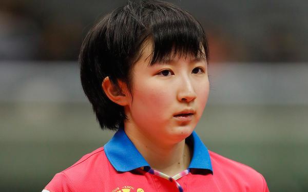 早田ひな/Hina Hayata 写真:長田洋平/アフロスポーツ
