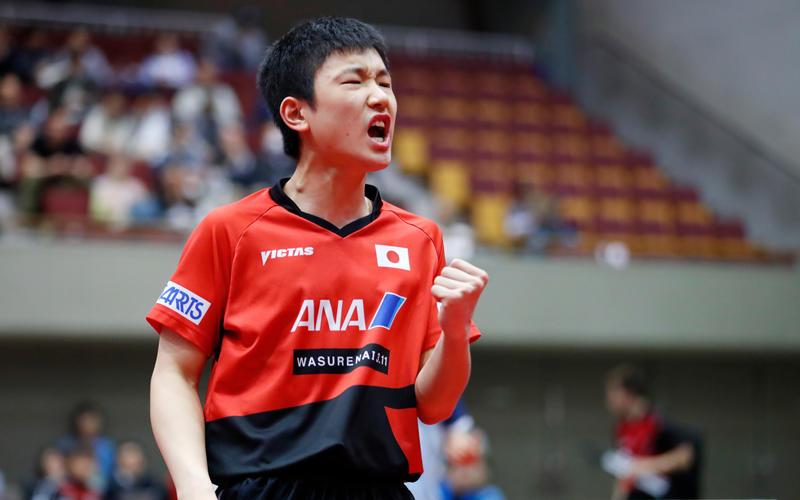 張本智和/Tomokazu Harimoto (JPN) 写真:アフロスポーツ