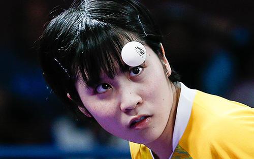 ユース五輪 平野美宇 写真:ZUMA Press/アフロ