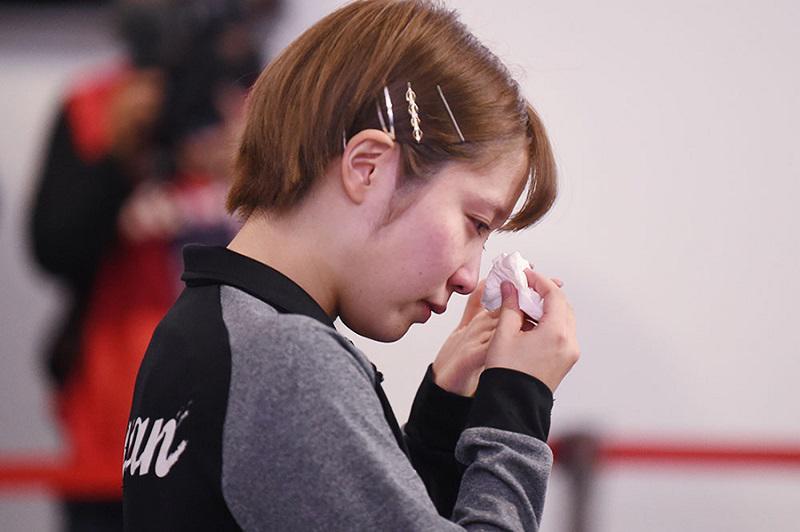 平野美宇 大号泣「シングルスで行きたかった... すごい残念です」五輪 ...