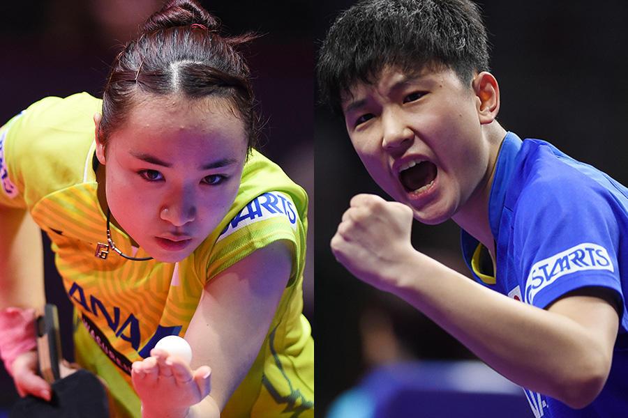 卓球 オリンピック 代表 女子