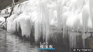 飛沫氷(しぶきごおり)(中禅寺湖)
