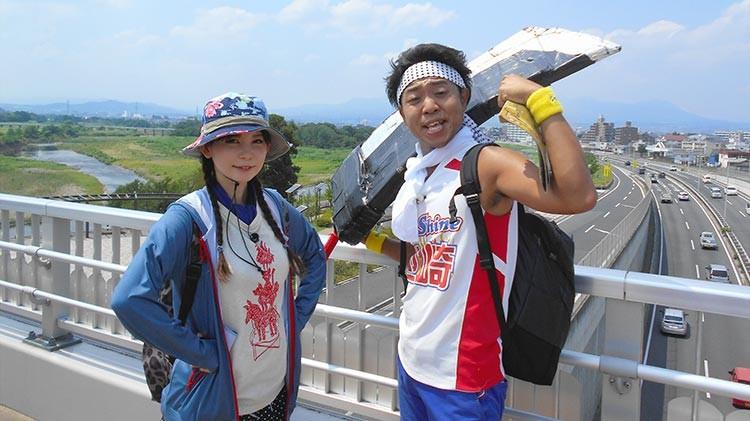 真夏の街道歩き旅!中山道 熊谷~軽井沢90キロ