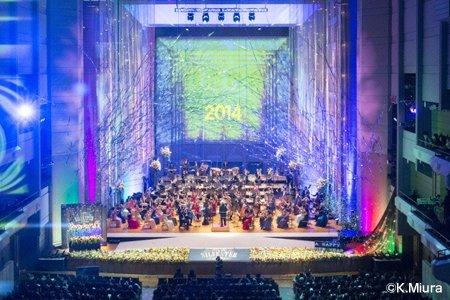 東急ジルベスターコンサート 2013-2014舞台写真