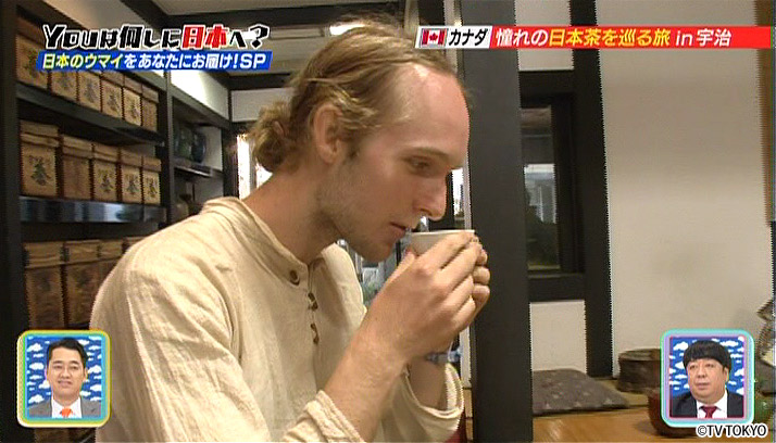 Another Japanese tea learning foreigner!